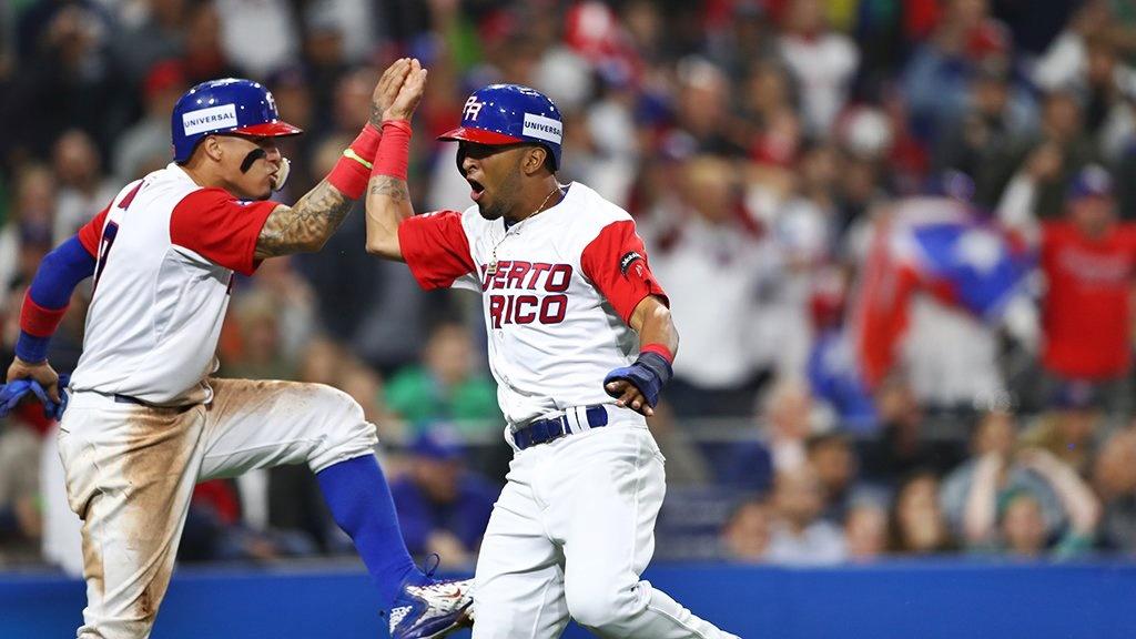 Puerto Rico derrota a USA asegurándose plaza en las semifinales del Clásico Mundial de Béisbol