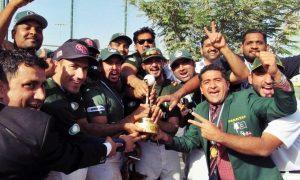 新設ドバイカップにてパキスタンがインドに勝利