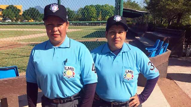 2018年のメキシコプロ野球リーグに初の女性審判員が誕生