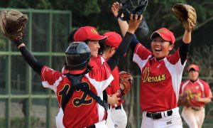 Japan's Venus Stars win women's baseball's Phoenix Cup in Hong Kong
