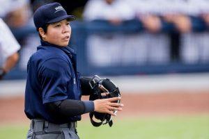 Po Chun Liu, the first female baseball umpire in Taiwan