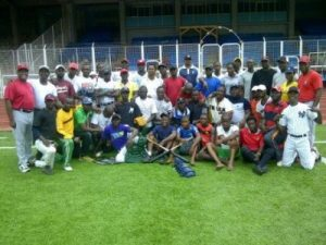 The baseball Clinic conducted in Nigeria was a success