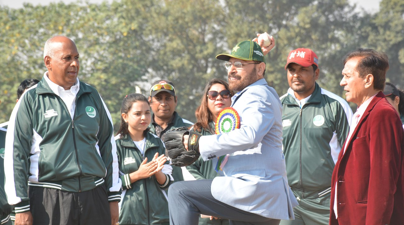 WBSC coordinates a baseball clinic funded by Olympic Solidarity in Pakistan