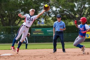 Eight nations remain in medal contention at WBSC Jr Women's Softball World Championship as playoffs begin