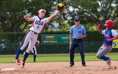 Ocho naciones permanecen en la contienda por medallas en el Campeonato Mundial de Softbol Jr. Femenino WBSC cuando comienzan playoffs
