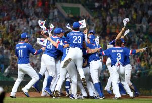 2014 Asiad: Host South Korea defeat Chinese Taipei to win gold for sell-out, electric crowd; Japan take bronze