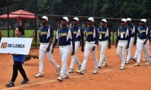 スリランカ野球選手権大会開幕