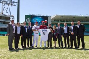 Blue Sox host star-studded launch party at Sydney Cricket Ground