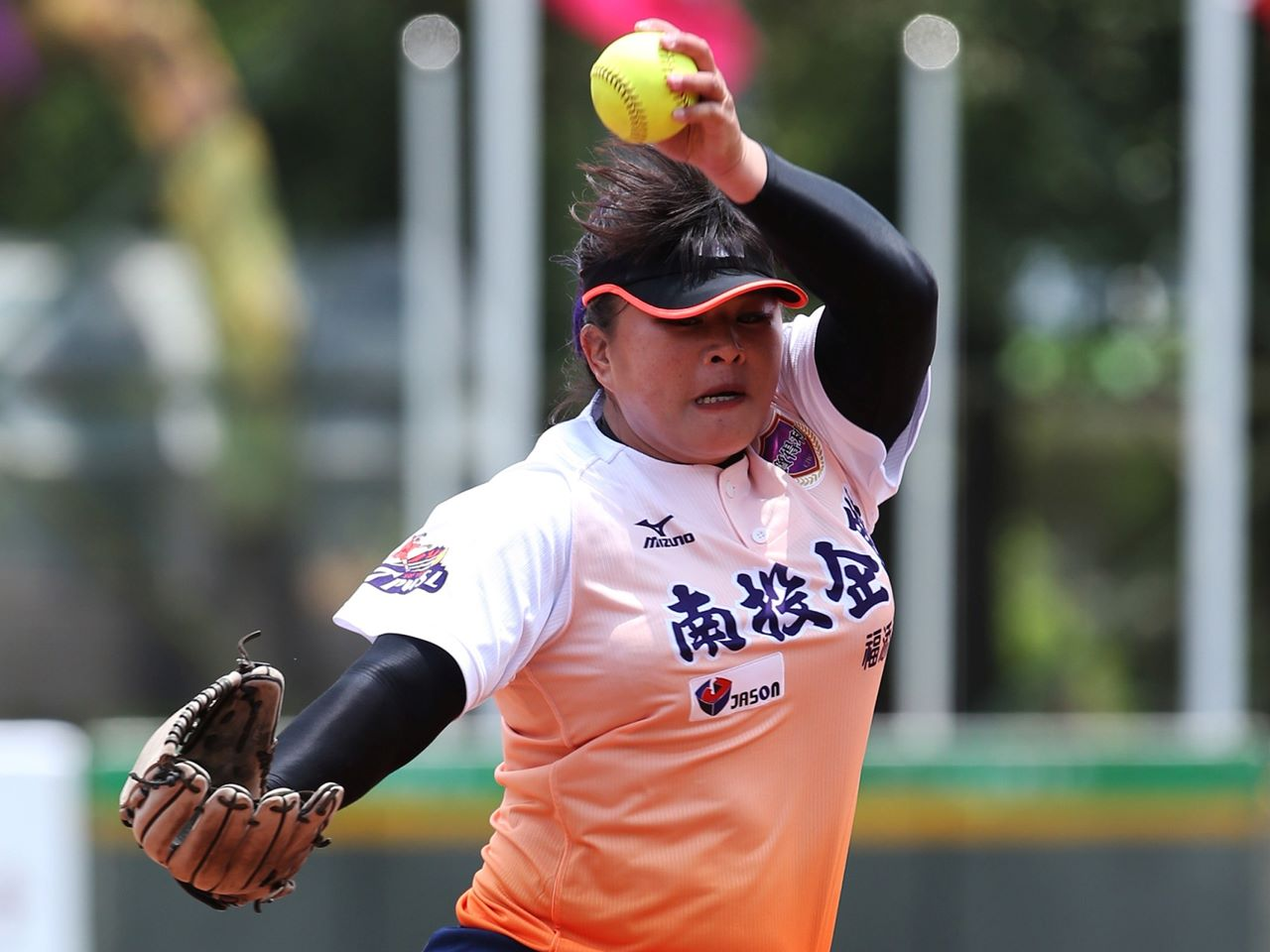Eagles defeat Warriors to open historic Taiwan Pro Women's Softball League