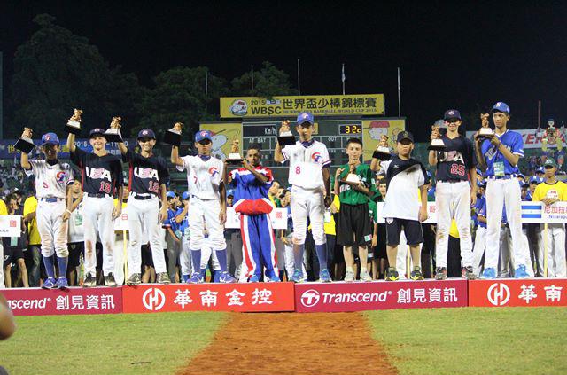All-World Team named for 2015 WBSC U-12 Baseball World Cup