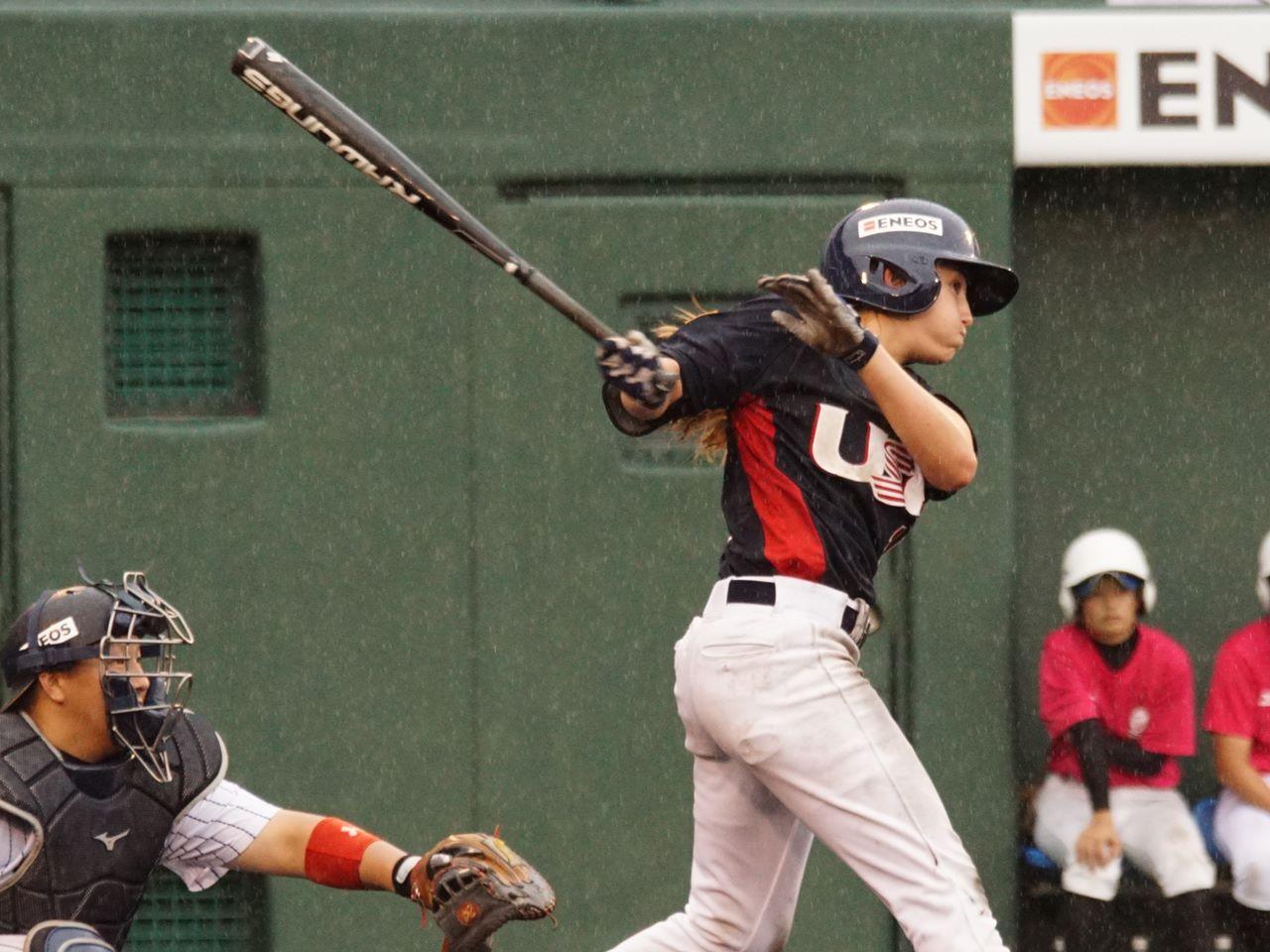 US Womens National Team hitter v Japan