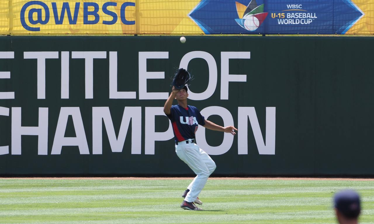 U.S. tops Panama for third best at WBSC U-15 Baseball World Cup 2016