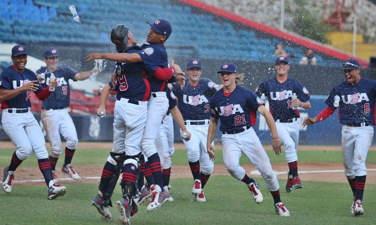 USA derrota a Cuba para ganar la corona Pan-Am Sub-18; Top 4 clasifican para la Copa Mundial de Béisbol Sub-18 2017