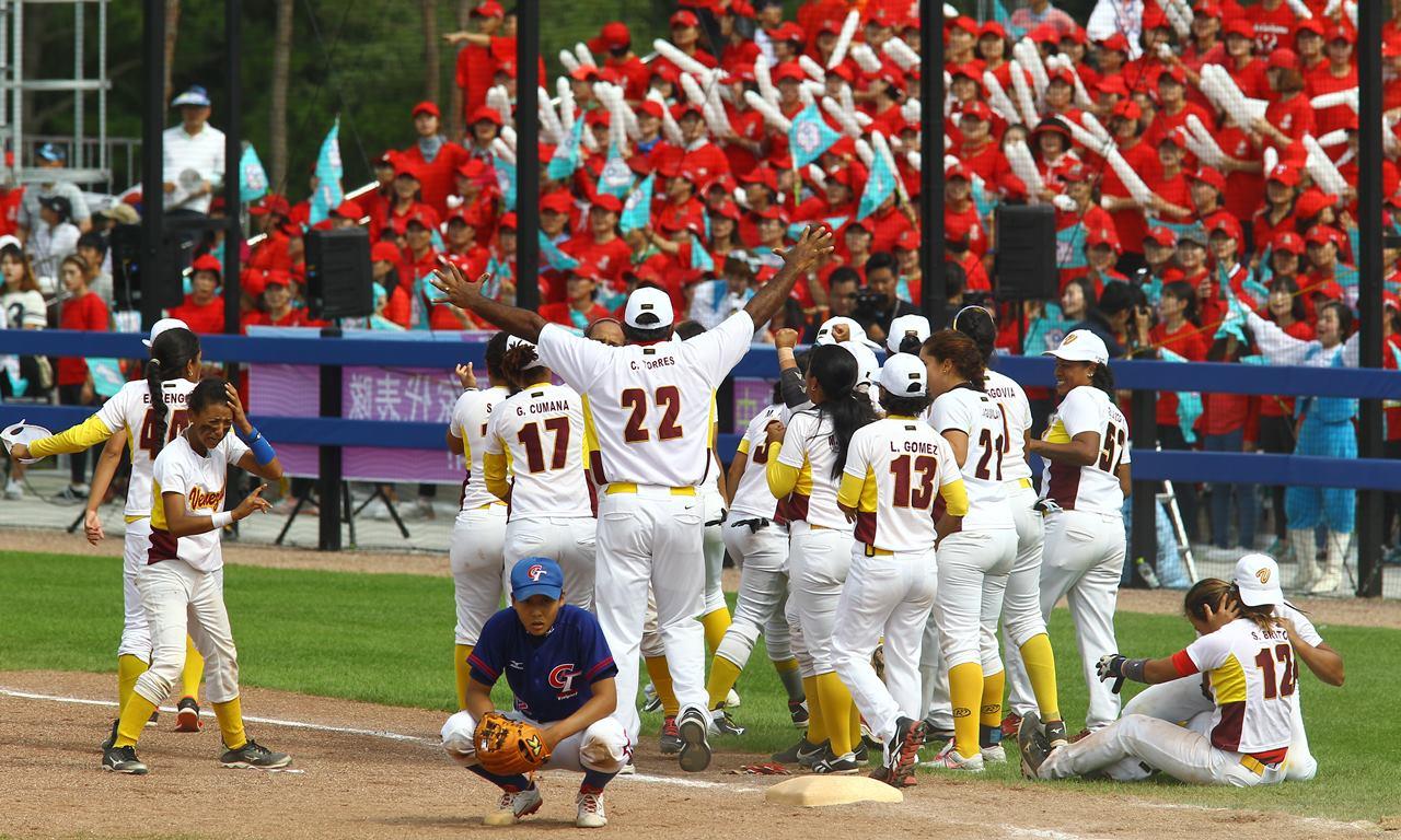 ベネズエラがチャイニーズタイペイを逆転で下し3位達成  WBSC女子ベースボールワールドカップ