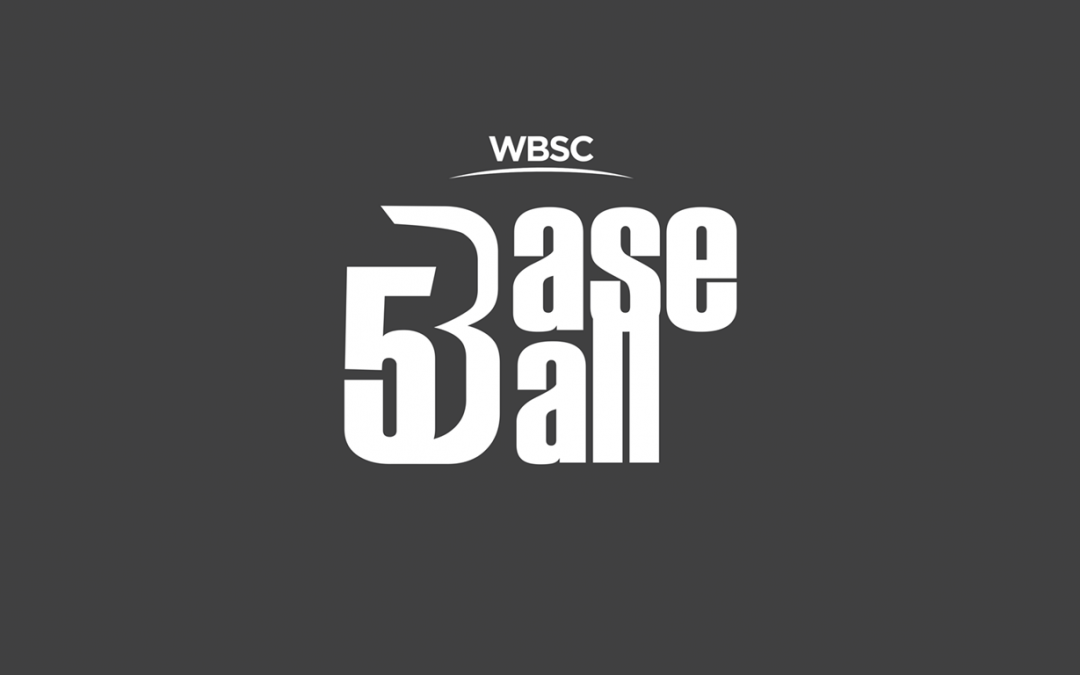 WBSC reveals new logo for launch of new Baseball 5-on-5 Street competition in Cuba