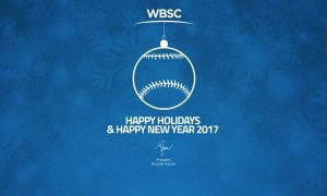 WBSC wishes world Happy Holidays!