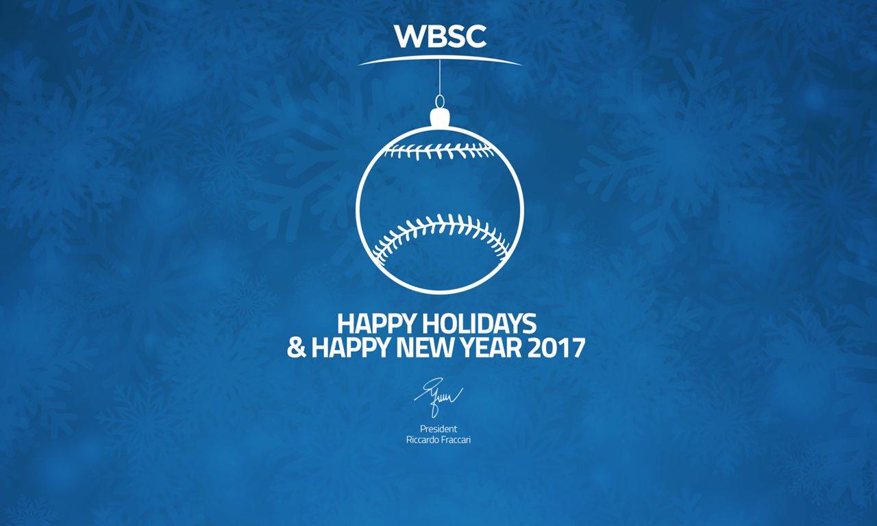 WBSCより世界中のみなさまが素敵なクリスマスと年末年始を迎えられますように!