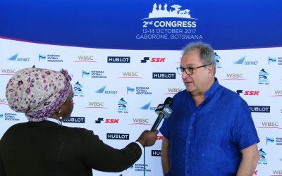 Líderes del béisbol y softbol de alrededor del mundo llegan para comenzar el Congreso de la WBSC en Gaborone, Botswana