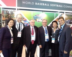World Baseball Softball Confederation unveils culturally diverse team for IOC Executive Board sports presentation