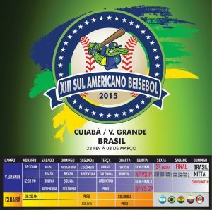 XIII South American Baseball Championship opens in Brazil