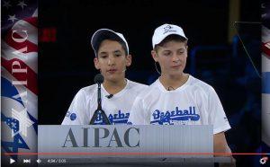 アメリカ・イスラエル公共問題委員会(AIPAC)がイスラエル野球協会プログラム「Baseball for  All」のをビデオで紹介