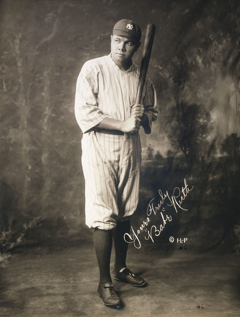 Babe Ruth in 1920