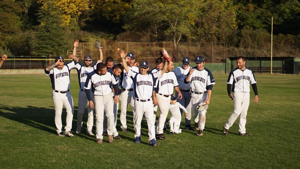 Europe heidenheim wins german baseball crown blagoevgrad best the buffaloes blagoevgrad celebrate winning the bulgarian baseball league 2017 title sciox Images