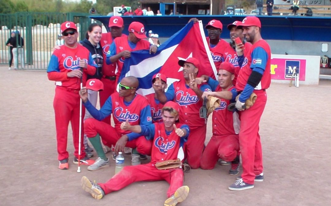 Cuban players win Baseball for the Blind tournament in France