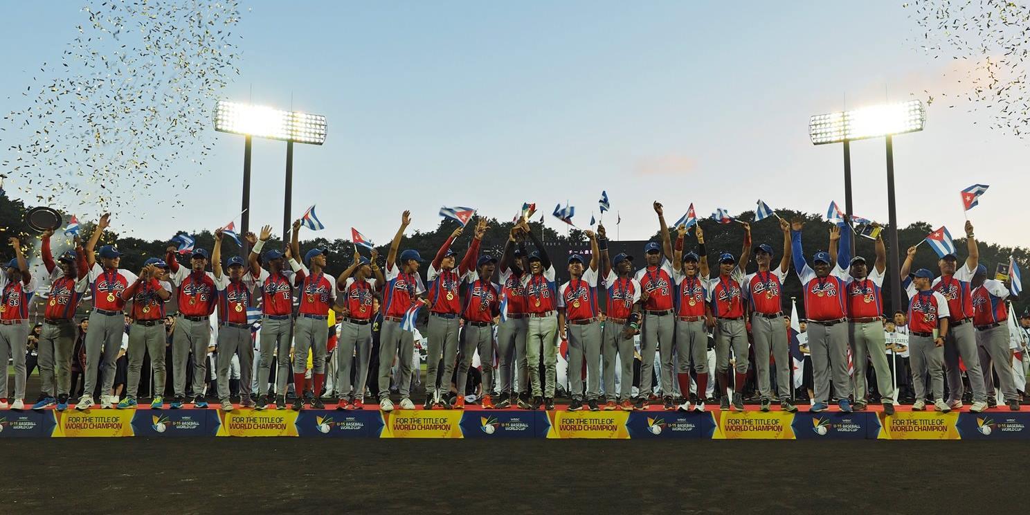 Cuba defends world title, defeats Japan in Final of WBSC U-15 Baseball World Cup 2016
