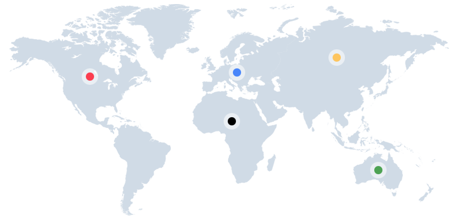 Federations Map