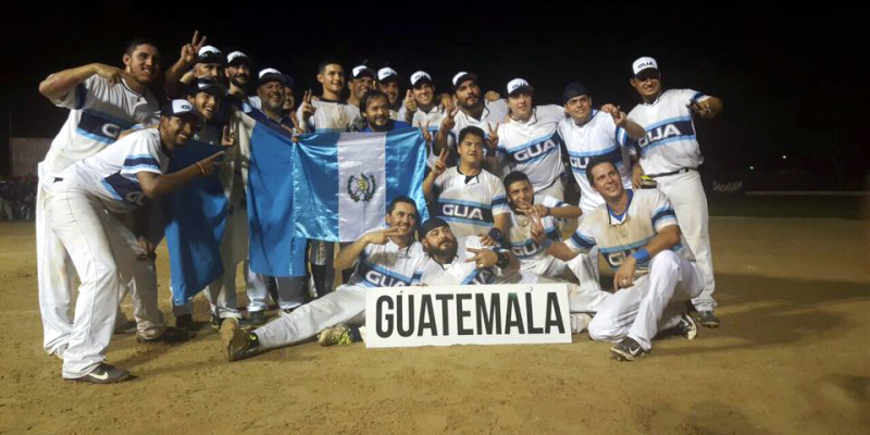 Guatemala crowned Central American Men's Softball Champions with thrilling walk-off victory