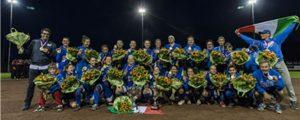 Italy wins the 2015 European Women's Softball Championship