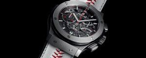 プレミア12活躍選手に「ウブロ・プレイヤー・オブ・ザ・ゲーム」賞としてWBSC プレミア12限定特別仕様版の腕時計を贈呈