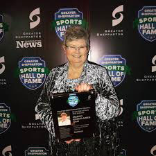 WBSC Softball Hall of Famer receives home town honours