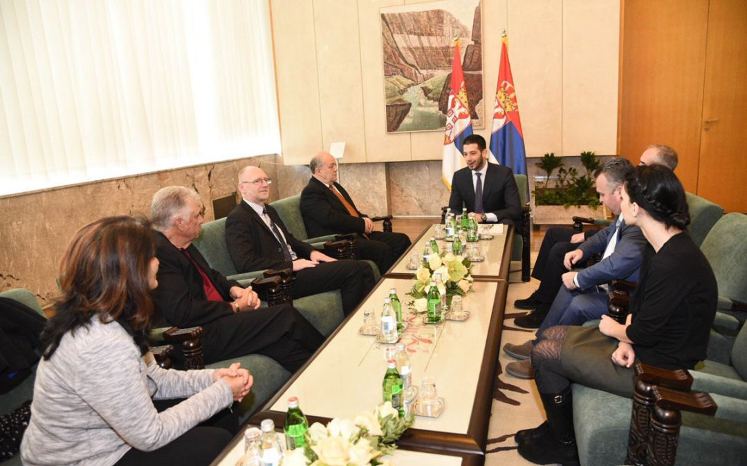 WBSC Softball leaders meet with Serbian Minister of Sport