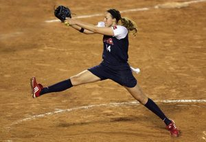 Olympian signs first $1 million professional softball contract in USA