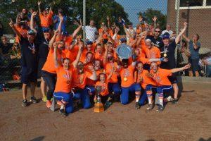 Olimpia Haarlem es el Campeón Nacional del Softbol Femenino Holandés
