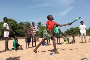 Baseball5 helps Run the Bases Program in Gambia