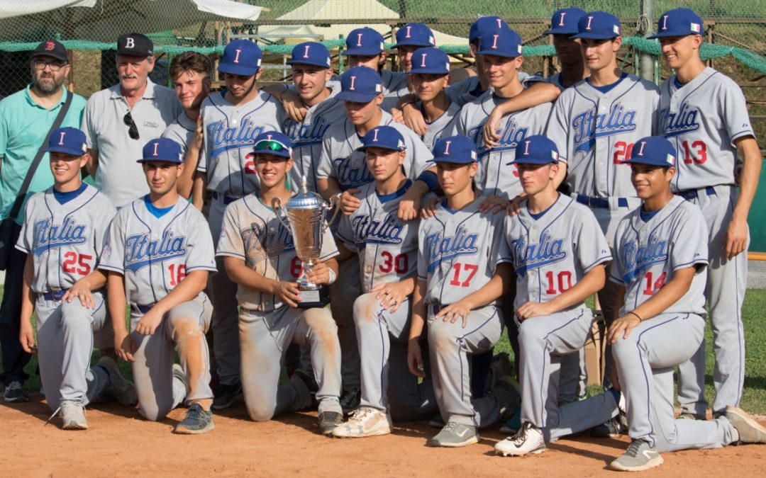 Italy announce roster for U-18 Baseball World Cup