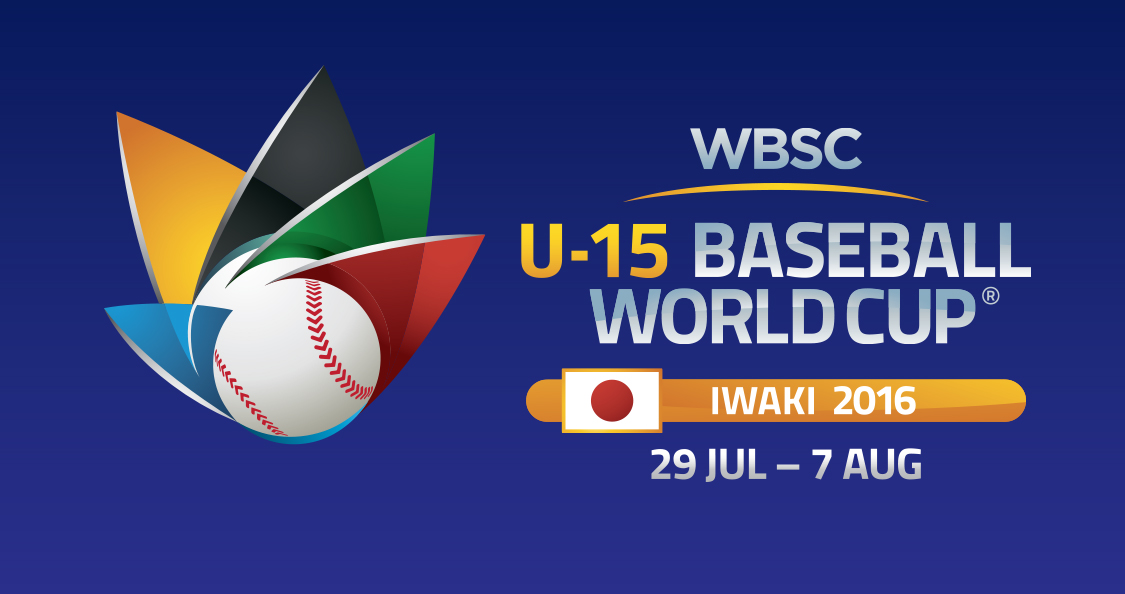 U-15 Baseball World Cup 2016 to be Live-Streamed Free Globally, Opens Tomorrow
