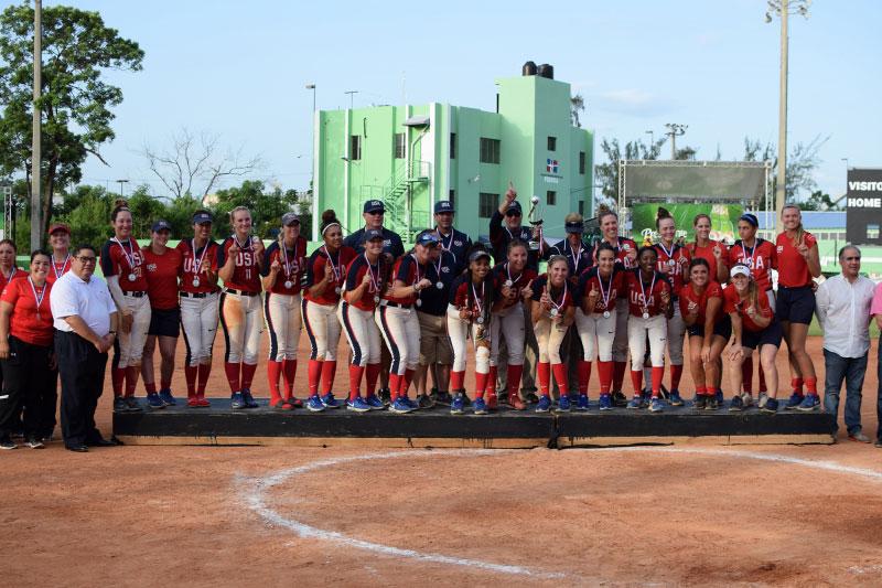 USA wins Pan American Women's Softball Championship over Mexico, qualify for Chiba 2018